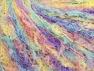 Fiberinnehåll 100% Polyamid, Yellow, Lilac, Light Turquoise, Brand Ice Yarns, fnt2-65403