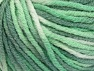 Fiber Content 60% Viscose, 20% Polyamide, 10% Wool, Brand Ice Yarns, Green Shades, Cream, fnt2-65427