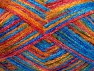 Fiber Content 50% Polyamide, 37% Acrylic, 13% Mohair, Red, Orange, Brand Ice Yarns, Blue Shades, fnt2-65452
