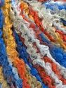 Fiber Content 40% Wool, 40% Acrylic, 20% Polyamide, Orange, Brand Ice Yarns, Gold, Blue Shades, Yarn Thickness 4 Medium  Worsted, Afghan, Aran, fnt2-65532