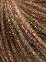 Fiber Content 40% Acrylic, 30% Wool, 30% Metallic Lurex, Brand Ice Yarns, Brown Shades, Yarn Thickness 4 Medium  Worsted, Afghan, Aran, fnt2-65538