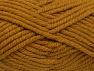 Fiberinnehåll 50% Ull, 50% Akryl, Brand Ice Yarns, Dark Gold, fnt2-65629
