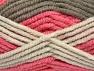 Vezelgehalte 50% Wol, 50% Acryl, Salmon Shades, Brand Ice Yarns, Camel, Beige, fnt2-65642