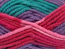 composizione 50% Acrilico, 50% Lana, Turquoise, Red, Pink, Lilac, Brand Ice Yarns, fnt2-65645