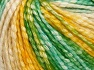 Fiber Content 77% Cotton, 23% Acrylic, Yellow Shades, Light Cream, Brand Ice Yarns, Green Shades, Yarn Thickness 4 Medium  Worsted, Afghan, Aran, fnt2-65704