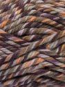 Fiberinnehåll 75% Akryl, 25% Superwash ull, Purple Shades, Khaki, Brand Ice Yarns, Gold, fnt2-65758