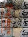 Fiberinnehåll 100% Bomull, Mixed Lot, Brand Ice Yarns, fnt2-65800