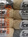 Fiberinnehåll 100% Bomull, Mixed Lot, Brand Ice Yarns, Yarn Thickness 3 Light  DK, Light, Worsted, fnt2-65822