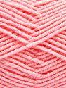 Contenido de fibra 60% Lana Merino, 40% Acrílico, Brand Ice Yarns, Baby Pink, Yarn Thickness 3 Light DK, Light, Worsted, fnt2-66590