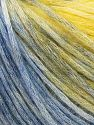 Modal is a type of yarn which is mixed with the silky type of fiber. It is derived from the beech trees. Contenido de fibra 74% Modal, 26% Lana, Yellow, Brand Ice Yarns, Blue Shades, Yarn Thickness 3 Light DK, Light, Worsted, fnt2-66597
