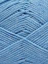 Fiber Content 100% Cotton, Brand Ice Yarns, Baby Blue, Yarn Thickness 2 Fine Sport, Baby, fnt2-67247