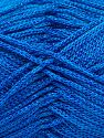 Width is 2-3 mm Fiber Content 100% Polyester, Royal Blue, Brand Ice Yarns, fnt2-67488