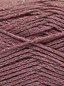 Fiber Content 88% Cotton, 12% Metallic Lurex, Light Orchid, Brand Ice Yarns, fnt2-67834