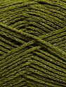 Fiber Content 88% Cotton, 12% Metallic Lurex, Khaki, Brand Ice Yarns, fnt2-67840