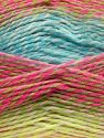 Fiber Content 100% Acrylic, White, Turquoise, Pink Shades, Brand Ice Yarns, Green, Camel, fnt2-67948