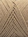 Please be advised that yarn iade made of recycled cotton, and dye lot differences occur. Fiber Content 100% Cotton, Brand Ice Yarns, Beige, fnt2-68186