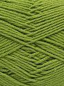 Vezelgehalte 60% Bamboe, 40% Polyamide, Pistachio Green, Brand Ice Yarns, fnt2-68642