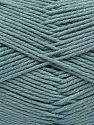 Vezelgehalte 60% Bamboe, 40% Polyamide, Light Indigo Blue, Brand Ice Yarns, fnt2-68646