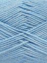Vezelgehalte 60% Bamboe, 40% Polyamide, Brand Ice Yarns, Baby Blue, fnt2-68647