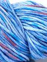 Fiber Content 90% Polyamide, 10% Cashmere, Salmon, Lilac Shades, Brand Ice Yarns, Blue, fnt2-68721