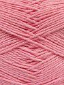 Vezelgehalte 60% Bamboe, 40% Polyamide, Brand Ice Yarns, Baby Pink, fnt2-68920