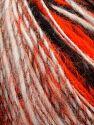 İçerik 50% Yün, 30% Akrilik, 20% Alpaka, White, Neon Orange, Brand Ice Yarns, Grey, Black, fnt2-69496