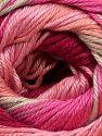 İçerik 100% Merserize Pamuk, Pink Shades, Brand Ice Yarns, Beige, fnt2-69530
