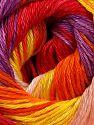 İçerik 100% Merserize Pamuk, Yellow, Red, Purple, Orange, Light Pink, Brand Ice Yarns, fnt2-69531