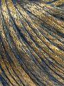 Fiber Content 70% Polyamide, 19% Merino Wool, 11% Acrylic, Brand Ice Yarns, Gold, Blue, fnt2-69698