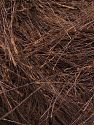Fiber Content 100% Polyester, Brand Ice Yarns, Coffee Brown, fnt2-69769