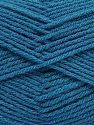 Vezelgehalte 100% Acryl, Turquoise, Brand Ice Yarns, Yarn Thickness 3 Light DK, Light, Worsted, fnt2-70045
