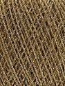 Contenido de fibra 100% Metálicos Lurex, Brand Ice Yarns, Gold, fnt2-70052