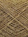 Contenido de fibra 100% Metálicos Lurex, Brand Ice Yarns, Gold, fnt2-70053