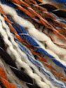 Fiber Content 54% Acrylic, 33% Wool, 13% Polyester, Brand Ice Yarns, Gold, Cream, Blue, Black, fnt2-70068