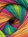 Fiber Content 100% Acrylic, Yellow, Salmon, Brand Ice Yarns, Green Shades, Fuchsia, fnt2-70349