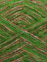 Contenido de fibra 64% Acrílico, 5% Metálicos Lurex, 20% Lana, 10% Poliamida, 1% Elastan, Silver, Pink, Brand Ice Yarns, Green, fnt2-70465