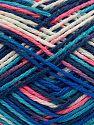 Fiber Content 100% Acrylic, Pink Shades, Brand Ice Yarns, Blue Shades, fnt2-70707