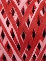 Fiber Content 100% Viscose, Red, Light Pink, Brand Ice Yarns, fnt2-70723
