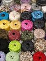 Fancy Yarns Because of the nature of fancy yarns, yardage of skeins may be different from one to another. The total net weight of the lot which is 2000 grams may differ around +-5%. In this list; you see most recent 50 mixed lots. <br> To see all <a href=&amp/mixed_lots/o/4#list&amp>CLICK HERE</a> (Old ones have much better deals)<hr> Brand Ice Yarns, fnt2-70751
