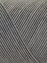 Vezelgehalte 70% Polyester, 30% Katoen, Brand Ice Yarns, Grey, fnt2-70763