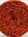 Please be advised that yarns are made of recycled cotton, and dye lot differences occur. Fiber Content 100% Cotton, Orange, Brand Ice Yarns, Black, fnt2-70802