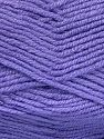 Fiber Content 50% Wool, 50% Acrylic, Lilac, Brand Ice Yarns, fnt2-70829