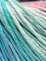 Fiber Content 100% Cotton, Turquoise, Mint Light Green Salmon, Lilac, Brand Ice Yarns, Blue, fnt2-70836