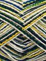 Fiber Content 100% Acrylic, White, Brand Ice Yarns, Green Shades, Blue Shades, fnt2-70871