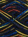 Vezelgehalte 50% Acryl, 50% Microvezel, Yellow, Purple, Brand Ice Yarns, Copper, Blue, Black, fnt2-70883