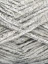 Fiber Content 90% Micro Fiber, 10% Metallic Lurex, Brand Ice Yarns, Ecru, fnt2-70894