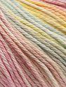 Fiber Content 100% Cotton, Pastel Rainbow, Brand Ice Yarns, fnt2-70937