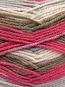 Fiber Content 100% Acrylic, Pink, Light Grey, Brand Ice Yarns, Ecru, Camel, fnt2-71063