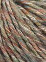 Fiber Content 40% Viscose, 40% Acrylic, 20% Cotton, Brand Ice Yarns, Grey Shades, Green Shades, Copper, fnt2-71095