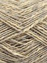 Fiber Content 70% Cotton, 30% Acrylic, Light Grey, Brand Ice Yarns, Cream, fnt2-71128